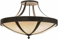 Meyda Tiffany 148835 Urban Spoked Ceiling Light Fixture
