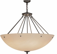 Meyda Tiffany 149158 Madison Contemporary Timeless Bronze Hanging Lamp