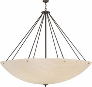 Meyda Tiffany 149283 Madison Modern Timeless Bronze Fluorescent Hanging Pendant Lighting