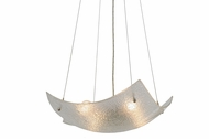 Meyda Tiffany 149334 Crinkle Clear Texture Contemporary Drop Lighting