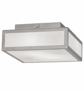 Meyda Tiffany 149545 Quadrato Modern Polished Nickel Flush Lighting