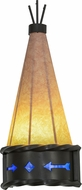 Meyda Tiffany 149956 Teepee Regalia Modern Timeless Bronze / Ebr Lighting Sconce