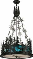 Meyda Tiffany 150053 Alpine Rustic Black Pendant Lighting