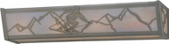 Meyda Tiffany 150132 Alpine Country Nickel / Cai Bathroom Vanity Light