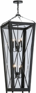 Meyda Tiffany 150231 Eures Antique Iron Gate / Clear Acrylic Foyer Lighting Fixture