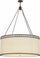 Meyda Tiffany 150294 Cilindro Circle X Timeless Bronze Hanging Lamp
