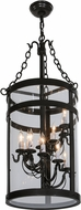 Meyda Tiffany 150323 Cilindro Espiral Timeless Bronze Entryway Light Fixture