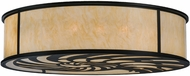 Meyda Tiffany 150495 Nautilus Black / Carmel Onyx Ceiling Lighting