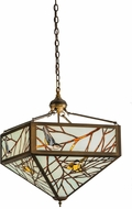 Meyda Tiffany 150648 Backyard Friends Rustic Antique Copper Pendant Lighting Fixture