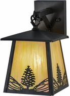 Meyda Tiffany 150784 Mountain Pine Rustic Bai Craftsman Light Sconce