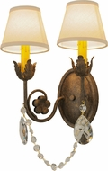 Meyda Tiffany 150959 Antonia Antiquity Lighting Wall Sconce
