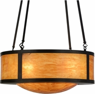 Meyda Tiffany 150990 Mission Prime New Mica Acrylic Craftsman Pendant Light