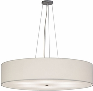 Meyda Tiffany 151078 Cilindro White Nickel Lighting Pendant