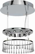 Meyda Tiffany 151185 Close Encounters Crystal LED Pendant Lamp