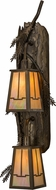 Meyda Tiffany 151595 Pine Branch Valley View Country Antique Copper / Bai Wall Sconce Lighting
