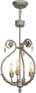 Meyda Tiffany 151743 Antonia Corinth Mini Ceiling Chandelier