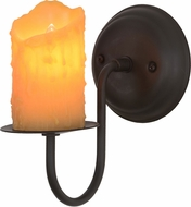 Meyda Tiffany 152058 Loxley Oil Rubbed Bronze Wall Sconce Light