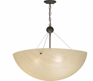 Meyda Tiffany 152181 Cypola Modern Oil Rubbed Bronze Lighting Pendant