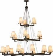 Meyda Tiffany 152191 St. Lawrence Contemporary Oil Rubbed Bronze Chandelier Light