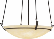 Meyda Tiffany 152226 Covina Honey Onyx Contemporary Chestnut Hanging Lamp