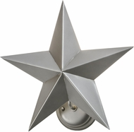 Meyda Tiffany 152242 Texas Star Modern Nickel Powder Coat Lighting Sconce