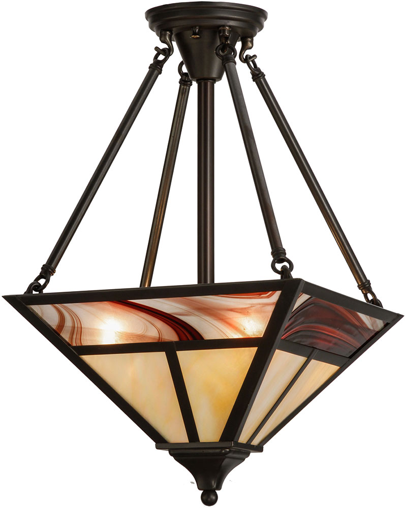 Meyda tiffany 152501 t mission contemporary craftsman for Modern craftsman lighting