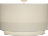 Meyda Tiffany 152504 Cilindro White Modern Cameo Hand Paint Ceiling Light