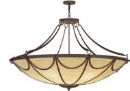 Meyda Tiffany 152511 Carousel Rusty Nail / Honey Onyx Acrylic Drop Ceiling Lighting