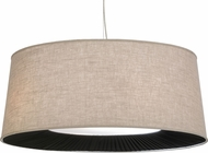 Meyda Tiffany 152528 Cilindro D & B Tapered Pleated Bottom Return Ceiling Light Pendant