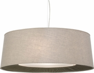 Meyda Tiffany 152530 Bruges Tapered Pleated Bottom Return Drop Ceiling Light Fixture
