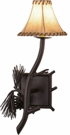 Meyda Tiffany 152832 Lone Pine Mahogany Bronze Wall Sconce Light