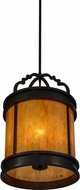 Meyda Tiffany 152940 Wyant Timeless Bronze Ceiling Pendant Light