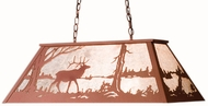Meyda Tiffany 15304 Elk at Lake Country Rust / Silver Mica Island Lighting