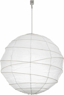 Meyda Tiffany 153153 Papier Contemporary White Drop Lighting Fixture