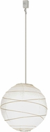 Meyda Tiffany 153155 Papier Contemporary White Pendant Light