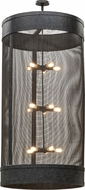Meyda Tiffany 153274 Cilindro Cage Contemporary Coffee Bean Hanging Light