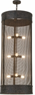 Meyda Tiffany 153276 Cilindro Cage Contemporary Coffee Bean Pendant Light Fixture