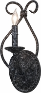 Meyda Tiffany 153437 Olivia Graphite Pewter Wall Light Sconce