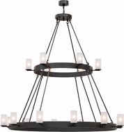 Meyda Tiffany 153502 Chappell Timeless Bronze Hanging Chandelier