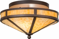 Meyda Tiffany 153735 Mission Prime Cafe Noir / Ba Ceiling Lighting