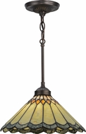 Meyda Tiffany 153755 Carousel Tiffany Ceiling Light Pendant
