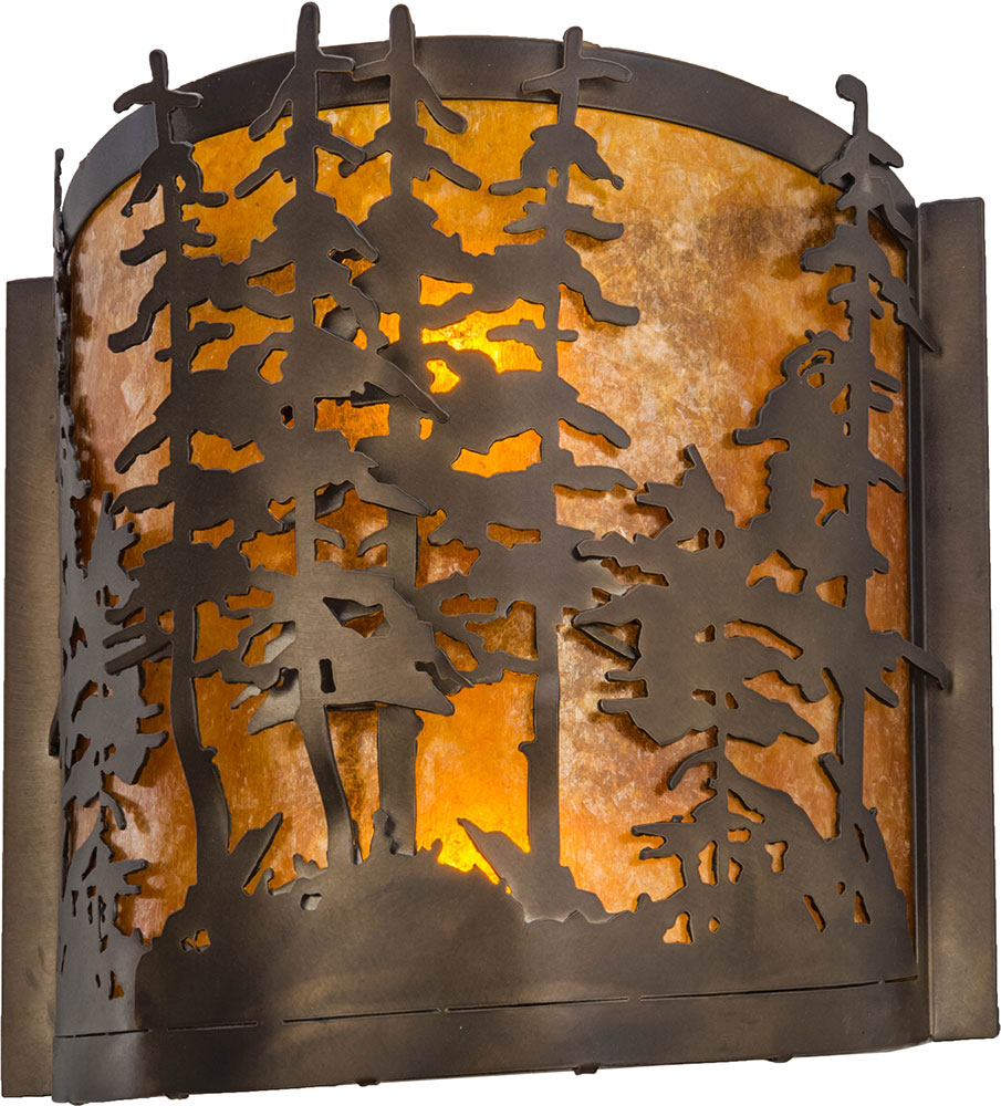 Meyda tiffany 153975 tall pines rustic antique copper amber mica meyda tiffany 153975 tall pines rustic antique copper amber mica wall light sconce loading zoom amipublicfo Image collections