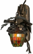 Meyda Tiffany 154411 Oak Leaf & Acorn Rustic Burnished A/C Wall Lighting