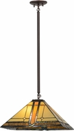Meyda Tiffany 155020 Sierra Prairie Mission Tiffany Hanging Pendant Light
