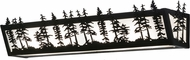Meyda Tiffany 155100 Tall Pines Rustic Black / Ca Bathroom Wall Light Fixture