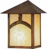 Meyda Tiffany 155817 Seneca Hill Top Craftsman Bai Vintage Copper Wall Mounted Lamp