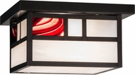 Meyda Tiffany 155892 Hyde Park Double Bar Mission Mission Ca / Brb Craftsman Ceiling Lighting