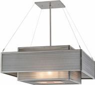 Meyda Tiffany 156440 Umador Modern Steel / Har Drop Lighting Fixture