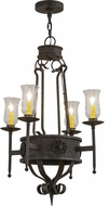 Meyda Tiffany 156470 Lorenzo Coffee Bean Mini Chandelier Lighting