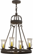 Meyda Tiffany 156471 Lakeshore Coffee Bean Mini Lighting Chandelier